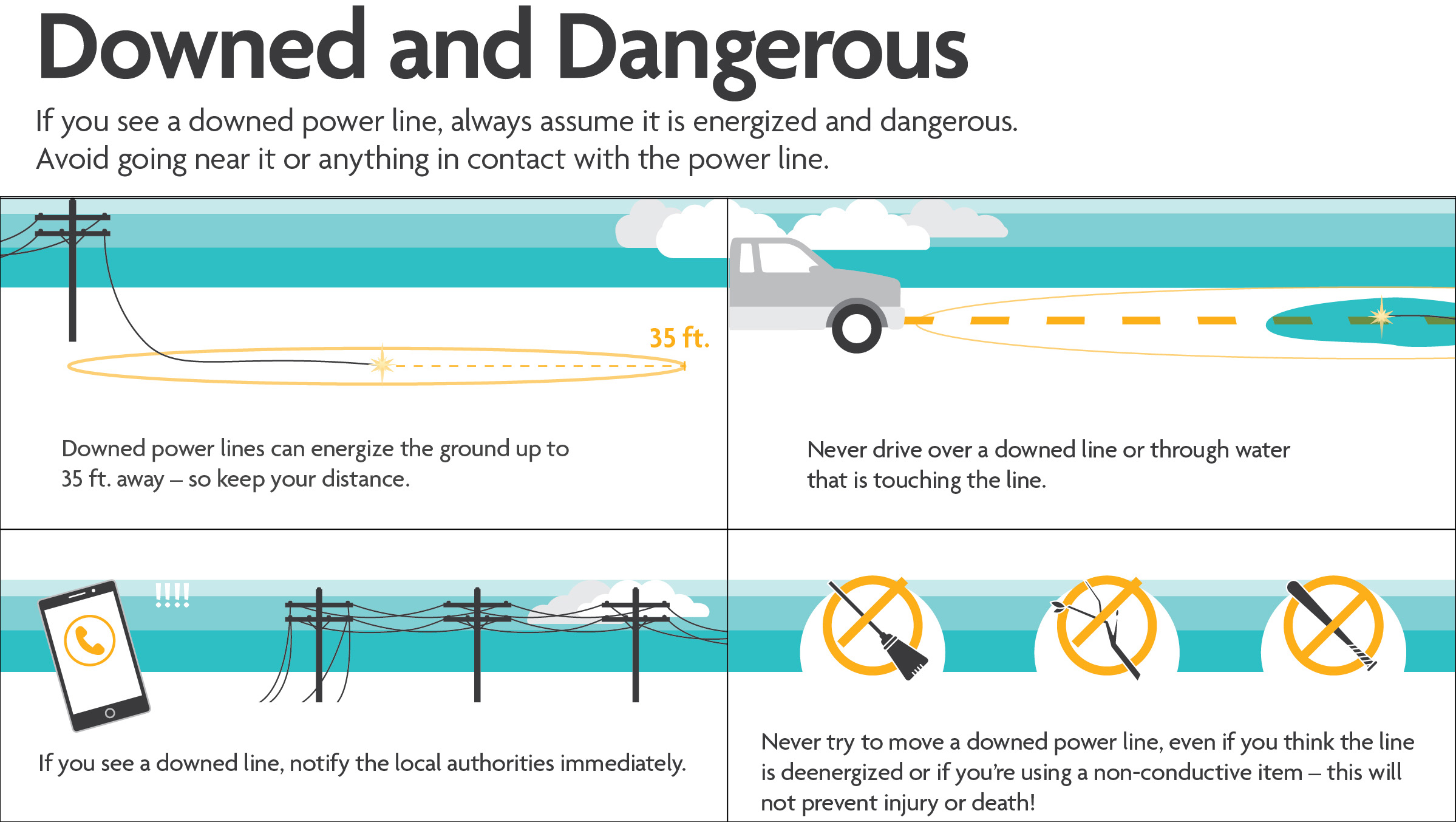 Downed And Dangerous Power Lines